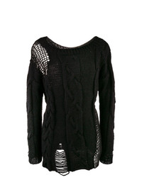 Almaz Open Knit Details Jumper