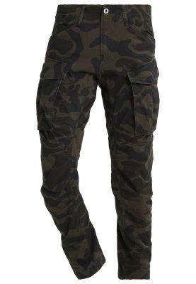 Men's Fashion › Pants › Cargo Pants › Black Camouflage Cargo Pants Rovic  Qane Camo 3d Tapered Cargo Trousers Asfalt Ao