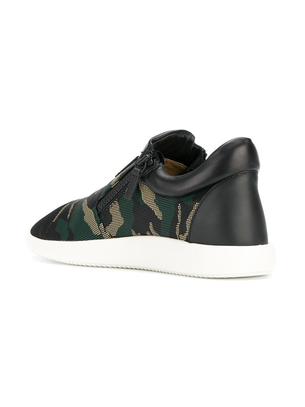 4f100440d4dc9 Giuseppe Zanotti Design Camouflage Runner Sneakers, £493   farfetch ...