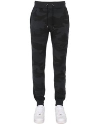 Black Camouflage Sweatpants
