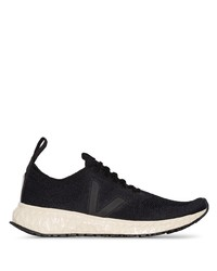 Rick Owens X Veja Low Top Sneakers
