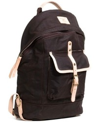 Will Leather Goods Canvas Backpack