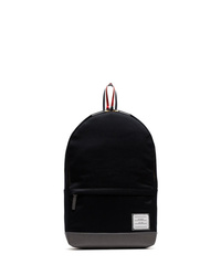 Thom Browne Navy Cotton Backpack