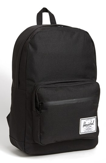 00a9fed30cf Black Canvas Backpacks Herschel Supply Co. Pop Quiz Backpack Black Black  One Size