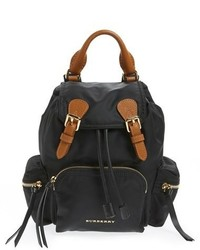 Burberry Small Runway Rucksack Nylon Backpack