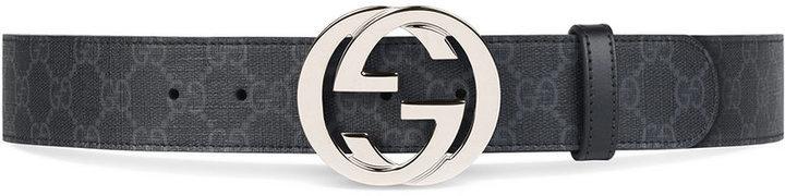 73f409a0f211 Gucci Gg Supreme Belt With G Buckle, £242   farfetch.com   Lookastic UK