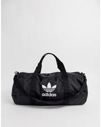 adidas Originals Adidas Orginals Trefoil Logo Travel Bag In Black