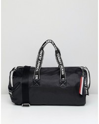 Tommy Jeans Barrell Bag With Logo Tape Straps
