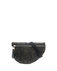 Alexander McQueen Printed Canvas Belt Bag