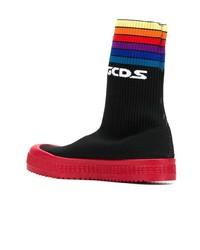 Gcds Hi Top Sneaker Boots