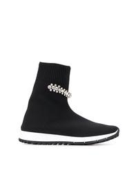 Jimmy Choo Regena Knitted Sneakers