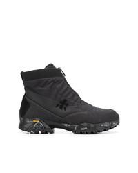 White Premiata Ziptreck Boots