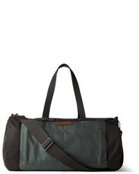Two tone canvas and shell holdall medium 85019