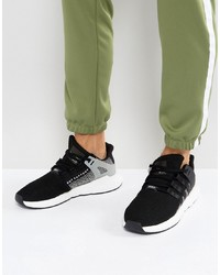 adidas Originals Eqt Support 9317 Trainers In Black By9509