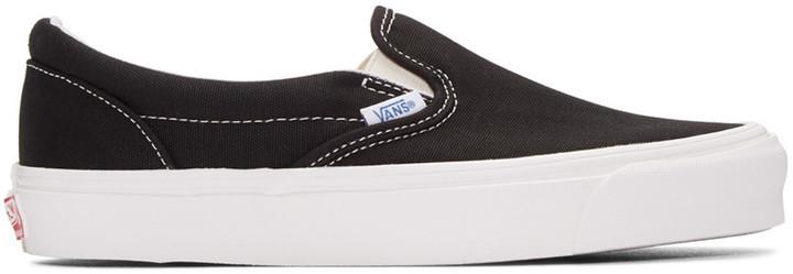 d67ab4648e Vans Black Og Classic Slip On Sneakers