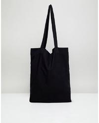 ASOS DESIGN Organic Tote Bag In Black