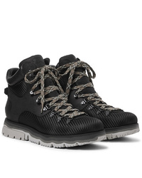 Sorel Atlis Axe Waterproof Canvas Trimmed Nubuck Boots