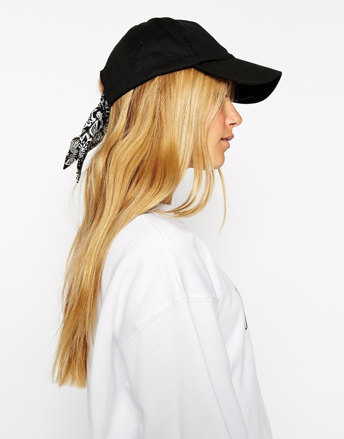 Asos Collection Tie Detail Cap