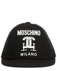 Moschino Interlocking C Clamp Baseball Cap