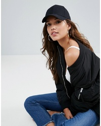 ASOS DESIGN Plain Baseball Cap With New Fit