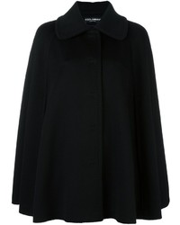 Dolce & Gabbana Cape Short Coat