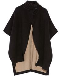 Theory Palomina Reversible Wool Blend Cape