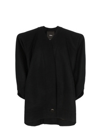 Montana Single Breasted Structured Wool Coat
