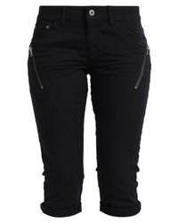 s.Oliver Denim Shorts Black