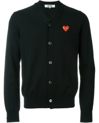 Comme des Garcons Comme Des Garons Play Heart Intarsia Cardigan