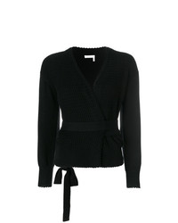 See by Chloe See By Chlo Textured Wrap Cardigan