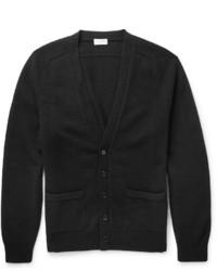 Saint Laurent Slim Fit Fine Knit Cashmere Cardigan