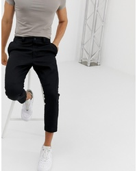 Hugo Faado192 Cargo Trousers In Black