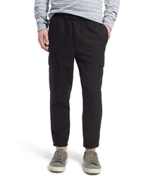 Vince Pull On Linen Blend Cargo Pants