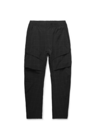 Nike Tech Pack Tapered Checked Stretch Nylon Blend Cargo Trousers
