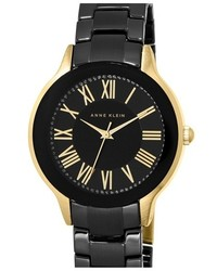 Anne Klein Ceramic Bracelet Watch 36mm