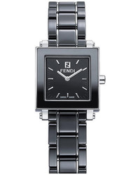 Fendi Ceramic Square Case Watch 25mm