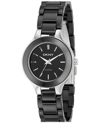 DKNY Chambers Ceramic Bracelet Watch 30mm