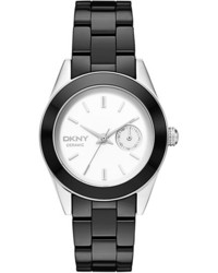 Jitney round ceramic bracelet watch 36mm medium 165908