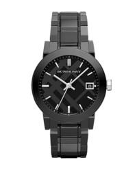 Burberry Medium Ceramic Bracelet Watch 34mm Black