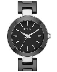 DKNY Stanhope Ceramic Bracelet Watch 28mm