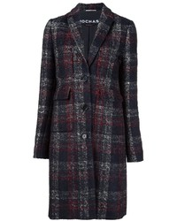 Rochas Checked Patter Coat