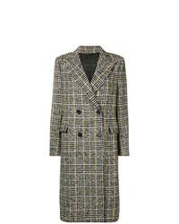 Ermanno Scervino Houndstooth Check Coat