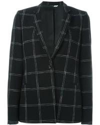 Ps by checked print blazer medium 646323