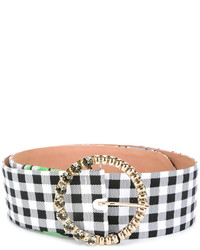 Blumarine Checked Belt