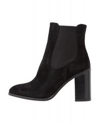 High heeled ankle boots black medium 4276263