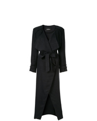 Goen.J Frayed Edges Midi Coat