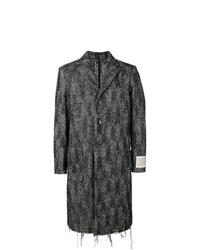 Diesel Chevron Single Breasted Coat