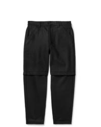 Comme Des Garcons SHIRT Black Wool Trousers