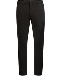 Bottega Veneta Slim Leg Stretch Cotton Chino Trousers