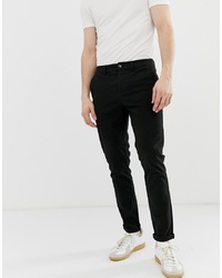 ASOS DESIGN Skinny Chinos In Black